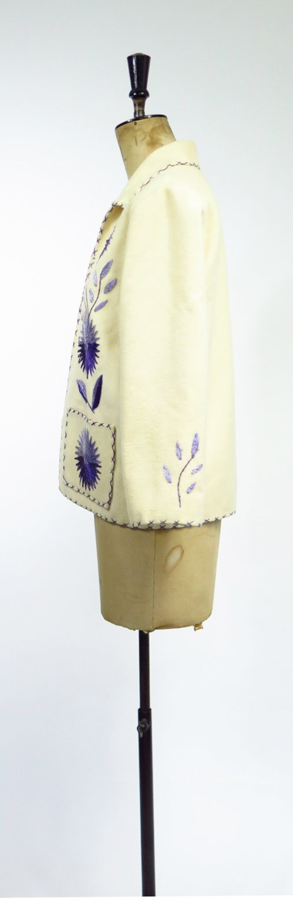 Original Vintage 1950s Mexican Souvenir Jacket - image 4