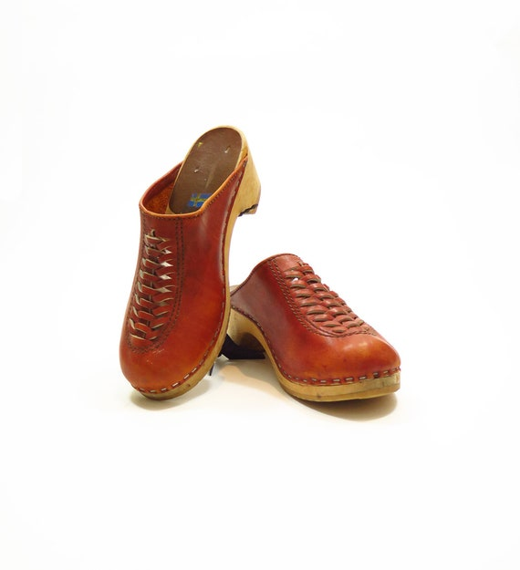 1970s Made In Sweden Clogs