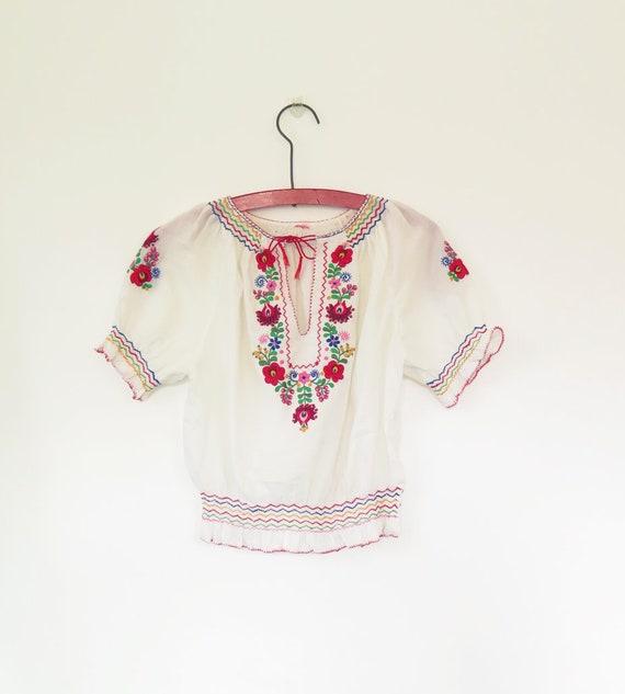 Original Vintage 1960s 1970s Hungarian White Hand