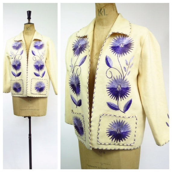 Original Vintage 1950s Mexican Souvenir Jacket