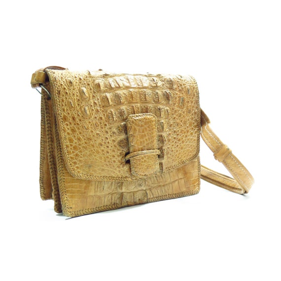 Vintage 1940s Alligator Handbag