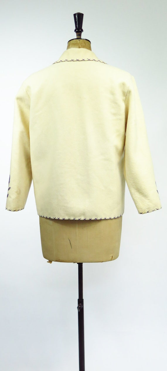Original Vintage 1950s Mexican Souvenir Jacket - image 6