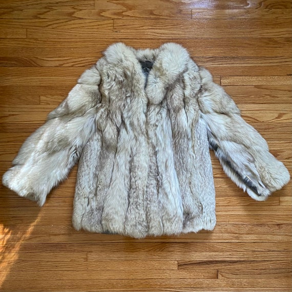 1970's Arctic Fox Fur Coat