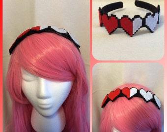 Heart Gauge Headband, Lolita, Cosplay, Costume Headpiece