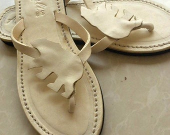 Leather sandals Handmade dog lovers shoes Baby Kids Whippet flip flops