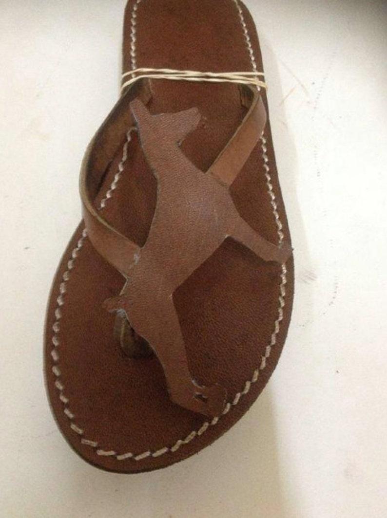 1017999b751f Doberman Shoes Sandals Flip flops summer gift dog
