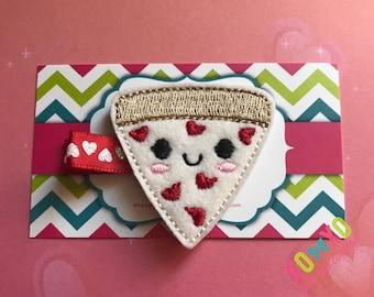 Pizza Hair Clip Slice Food Barrette