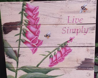 Live Simply Painting Packet