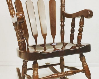Adult factory sprayed Rocking  Chair