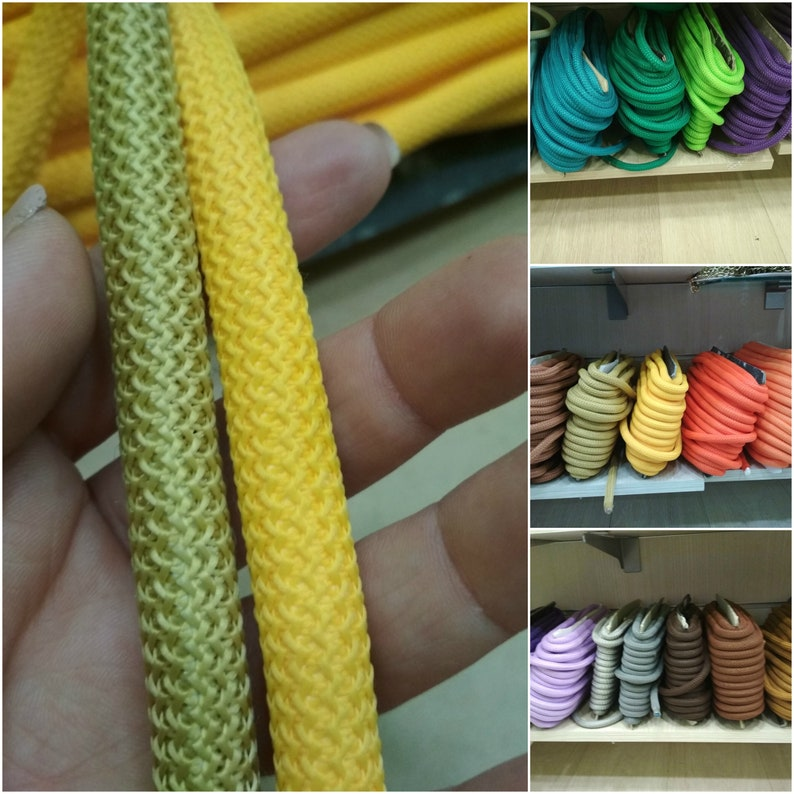 Polyester ParaCord 5mm Royal BLUE Braided Rope Cord Lace Color Sewing Trim Craft