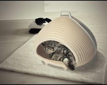 CAT-A-COMB 2.0, cat cave, cat house