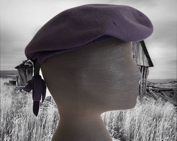 Vintage Wool Tam Wool Beret 1940s New York Creati… - image 3