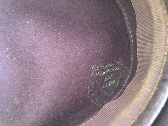 Vintage Wool Tam Wool Beret 1940s New York Creati… - image 5