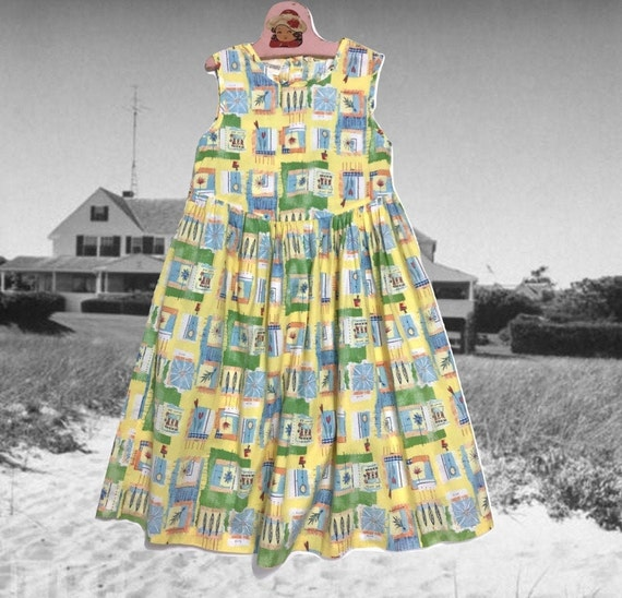 Vintage Girls Dress, Laura Ashley, Cotton Summer D