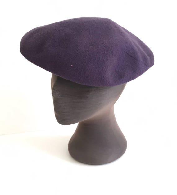 Vintage Wool Tam Wool Beret 1940s New York Creati… - image 6