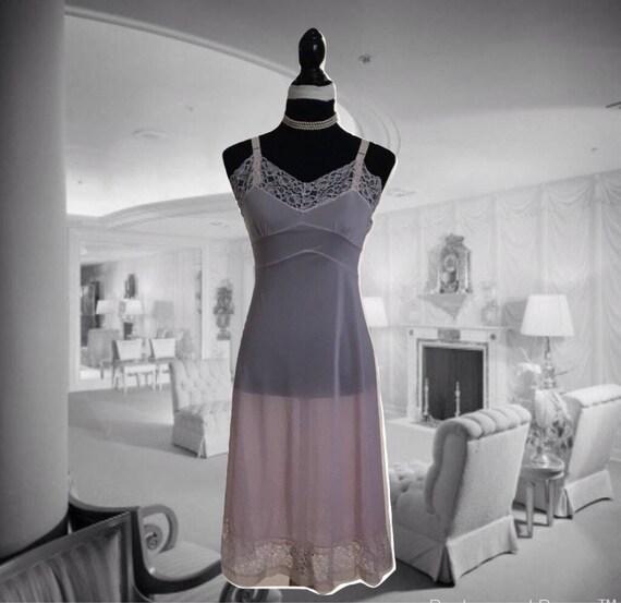 Vintage 1960s Lingerie Miss Diana Full Slip Ladies
