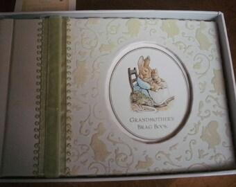 Photo Album Leather Fuchsia aquamarine Milano Series Luxe Brag Book holds 36 photos