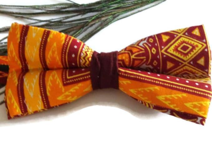Free Shipping African Bow tie Gift, Gifts For Him, Dashiki Wedding Bow Tie, Boyfriend Gift Ideas