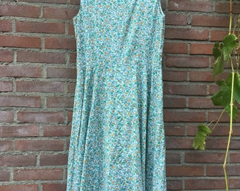 Vintage green dress | Etsy