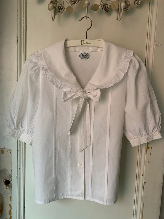 Vintage blouse by Laura Ashley, s