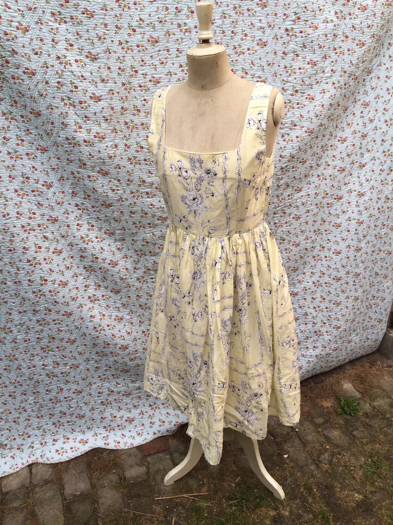6bc1c62350a Laura Ashley sundress of vintage look