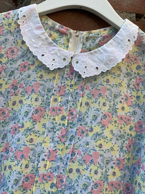Vintage teadress by Laura Ashley