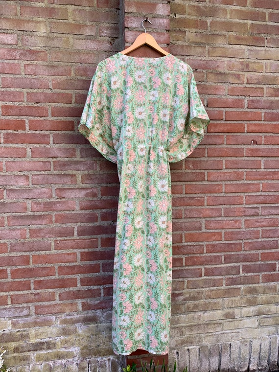 Vintage kaftan hippie dress
