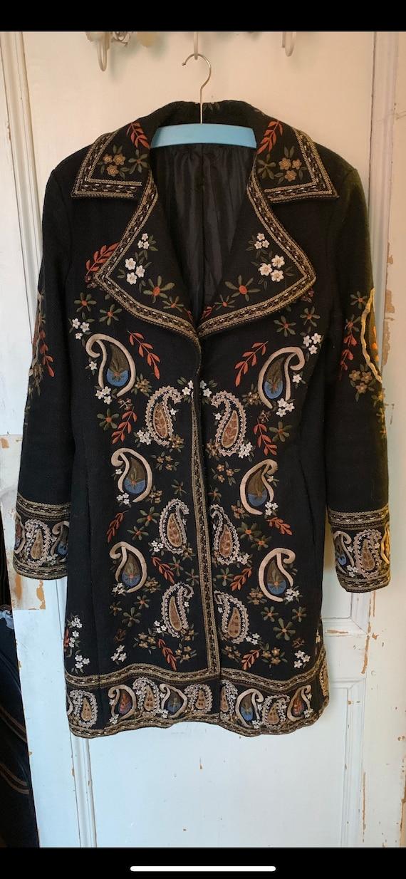 Vintage hippie coat