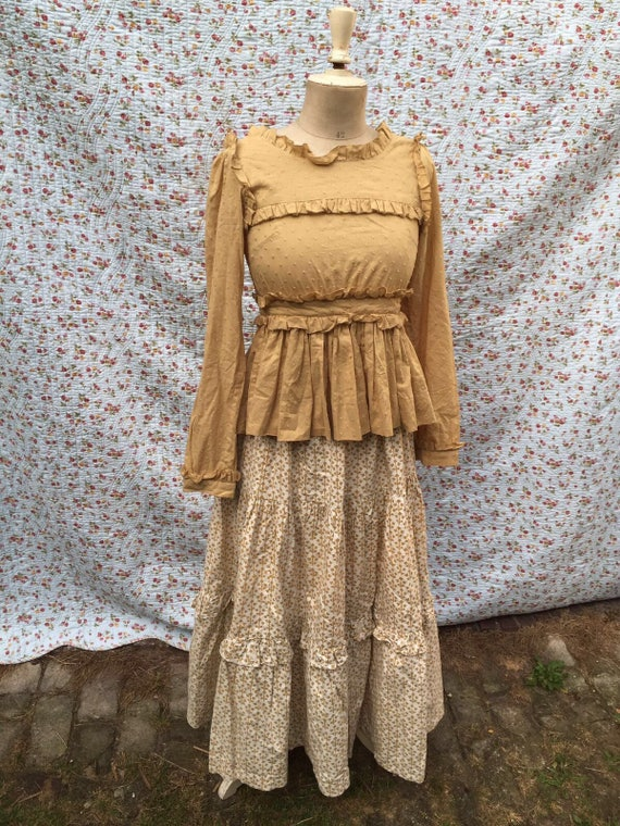 Vintage maxi skirt by Laura Ashley