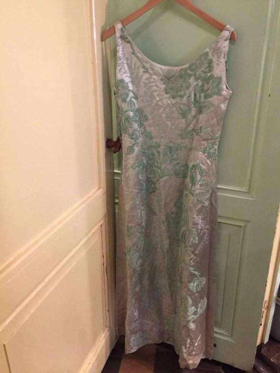 Vintage 60s evening dress