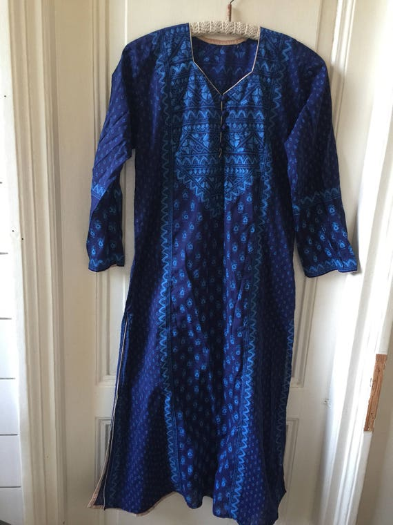 Vintage hippie dress, small