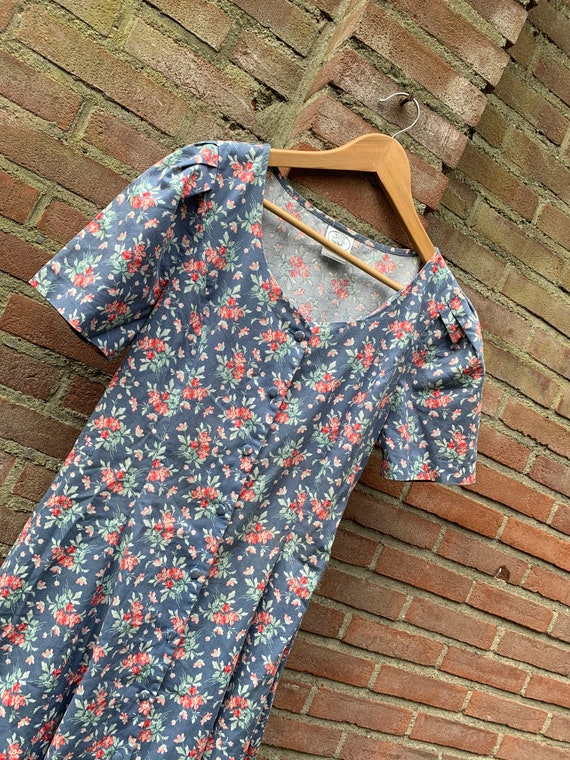 Vintage dress by Laura Ashley