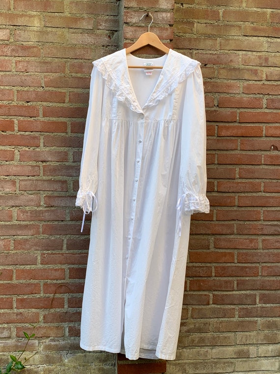 Vintage morninggown by Laura Ashley