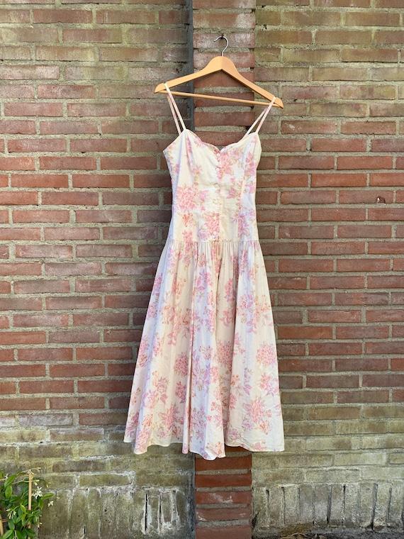 Vintage romantic Laura Ashley dress