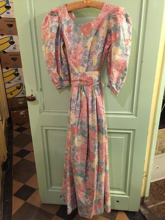 Vintage dress Laura Ashley