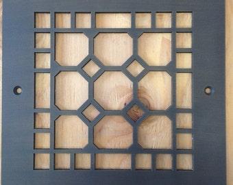 Decorative vent covers, HVAC register, Oil rubbed bronze