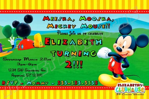 Custom Kids Birthday Invitations Printable