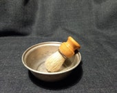 Vintage Men 39 s Shaving Set - Bowl and Shaving Brush