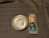 Vintage Men 39 s Shaving Set - Bowl and Shaving Brush - NEW