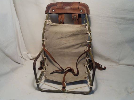 Vintage Children's Tourist Seat - Backpack
