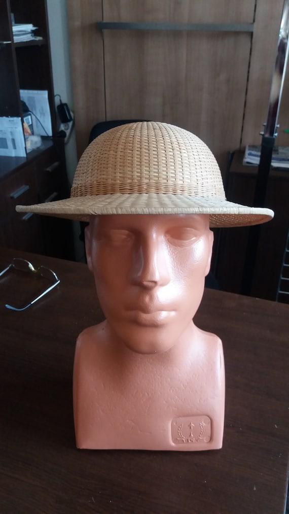 Vintage Handmade Straw Cap - NEW
