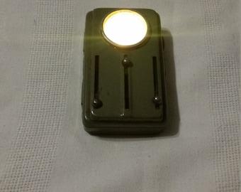 Vintage 1960's Military /Railway Flashlight