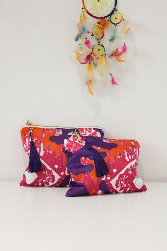sac pochette, sac, sacs et sacs à main, sac à cosmétiques, sacs en tissu, pochette, sac de plage, sac imprimé, sac d'été, trousse de maquillage