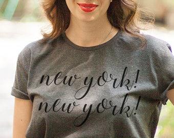 New York shirt / New York city shirt / Manhattan shirt / New York theme shirt /