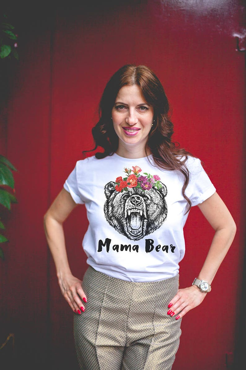 Mothers gift / Gift for Mom / Mama bear shirt / Mom gifts / image 1