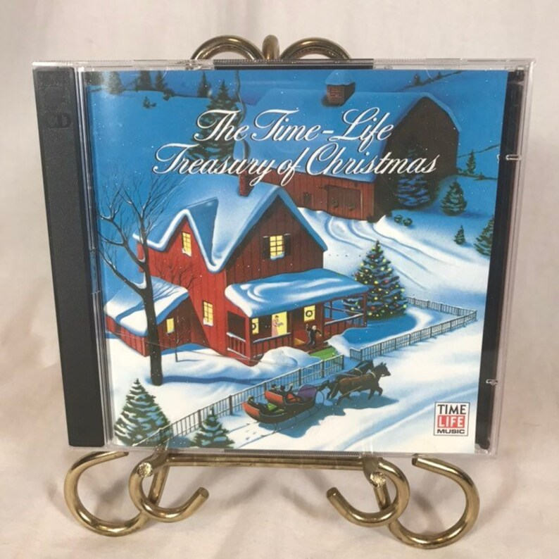 The Time Life Treasury Of Christmas.Time Life Treasury Of Christmas By Various Artists 2 Disc Set Of Christmas Music 45 Classic Songs On These Cd S