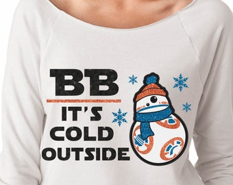 Magical Star Wars BB8 Glitter Shirt - Magical Glitter Shirt - Christmas Glitter Shirt