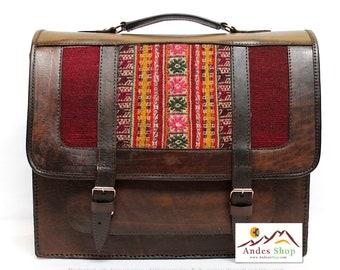 SALE 10% OFF* Genuine Leather Briefcase, Leather Messenger Bag, Leather Satchel, Shoulder Bag, Vintage briefcase, brown briefcase