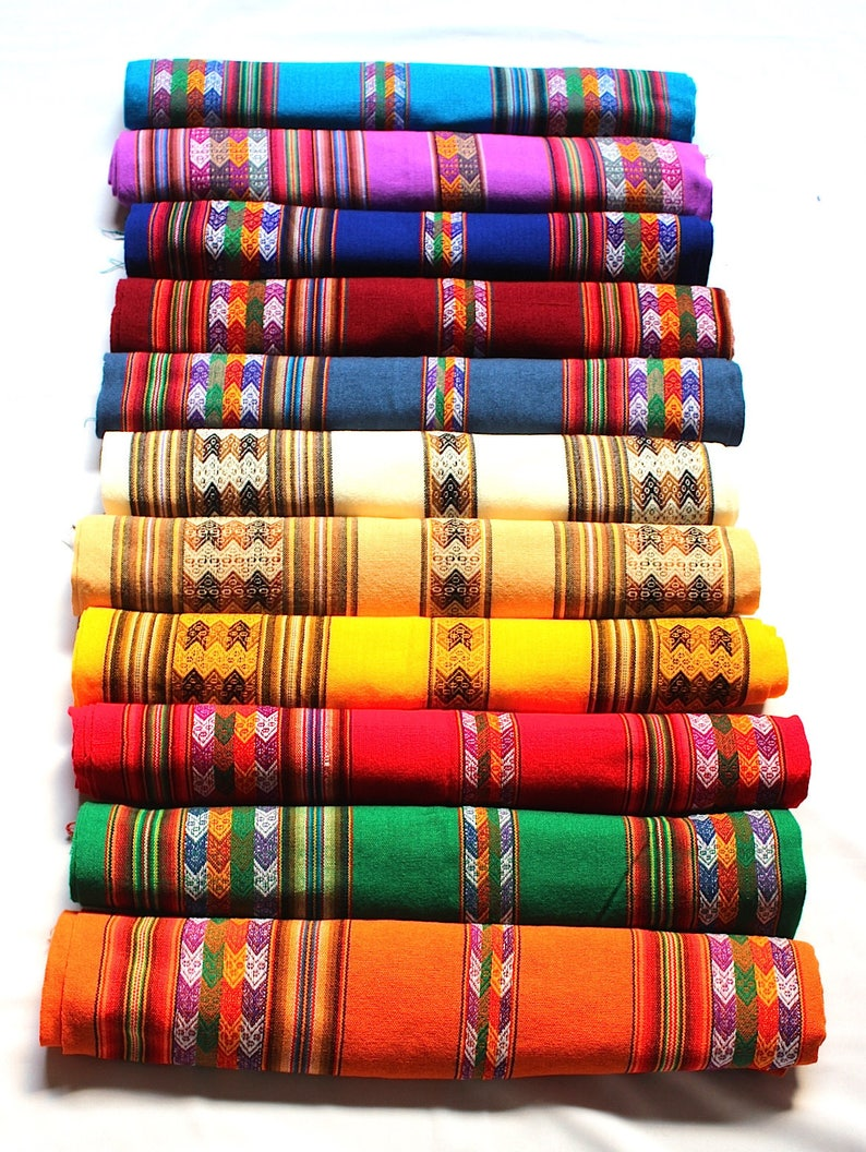 SALE 20% OFF Large Size Genuine Aguayo Bolivian Peruvian image 0