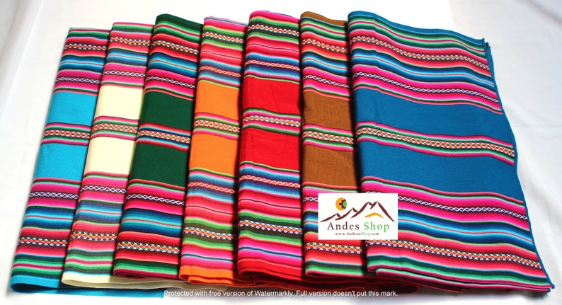 SALE 10% OFF Large Size Premium Genuine Aguayo Bolivian image 0